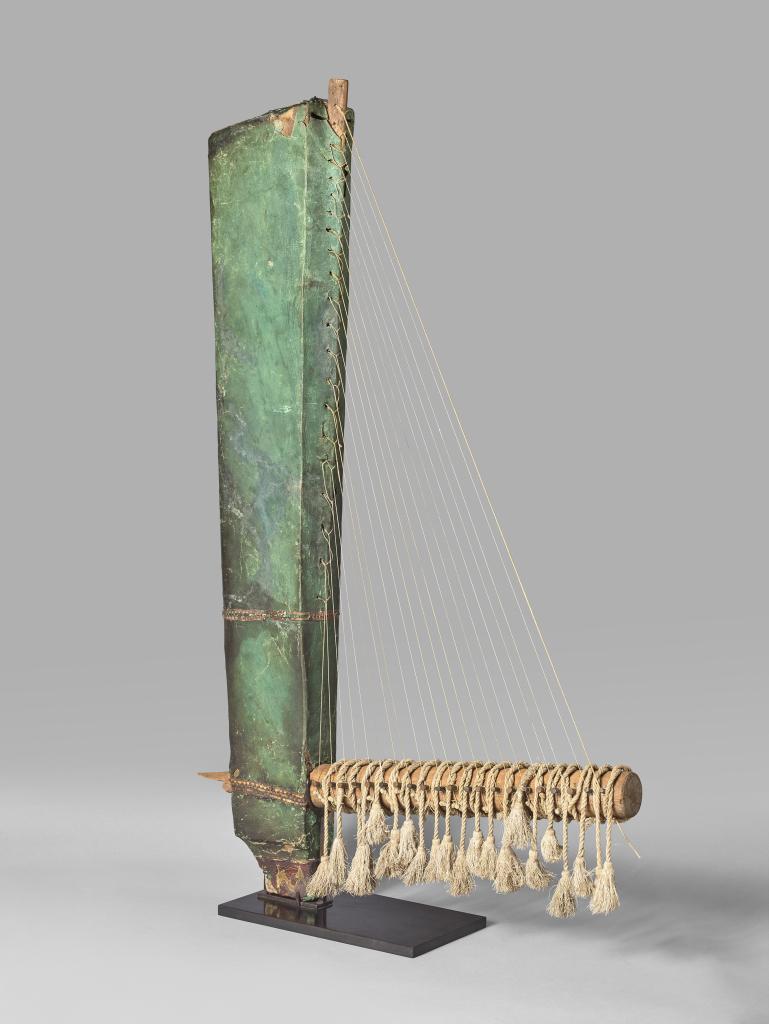 Harpe angulaire, Égypte 664-332 avant J.-C., Musique ! Louvre Lens