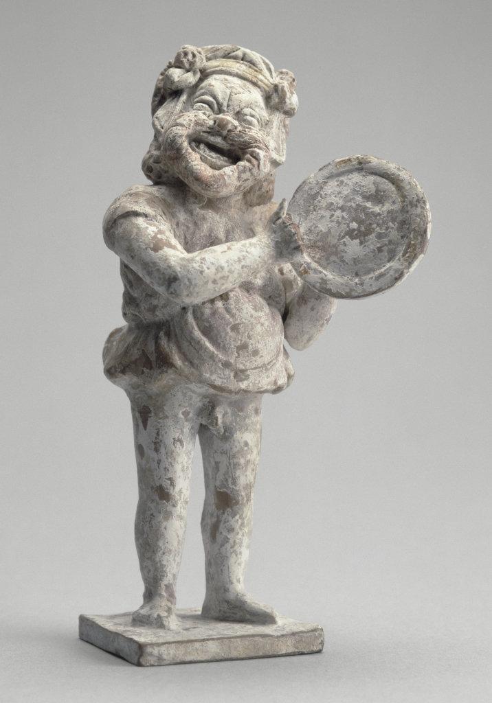 Acteur au tympanon, Musique ! Louvre Lens