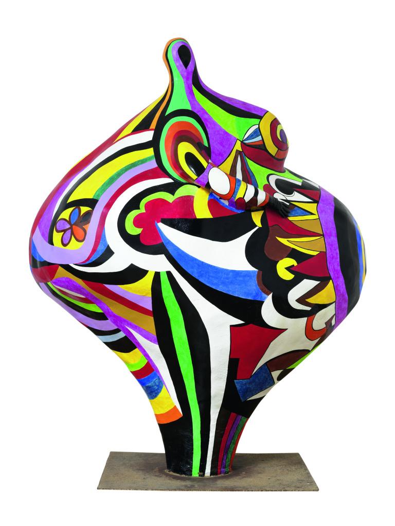 Niki de Saint Phalle, Gwendolyn, 1966-1990 - Exposition Belles ! Belles ! Belles ! Les femmes de Niki de Saint Phalle à la Galerie Georges-Philippe et Nathalie Vallois