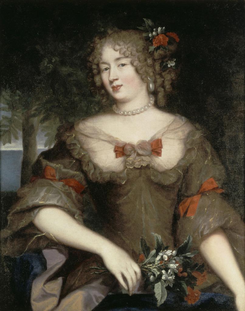 P. Mignard, Françoise de Sévigné, comtesse de Grignan, XVIIe siècle - Exposition Madame de Sévigné, épistolière du Grand Siècle au Château de Grignan