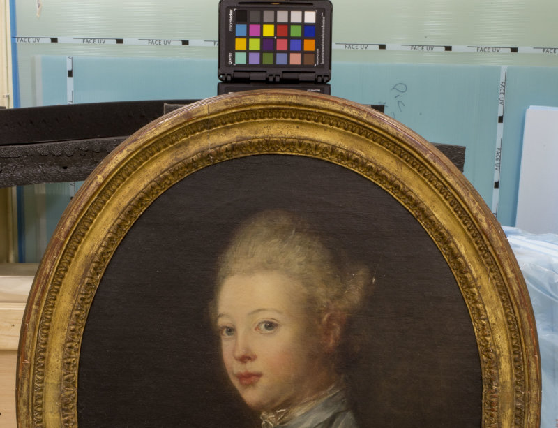 Portrait de Pierre François Jean du Cluzel enfant