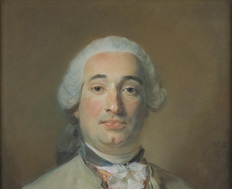 Portrait de Joseph Thérèse Michel de Grilleau_Dépôt du Louvre