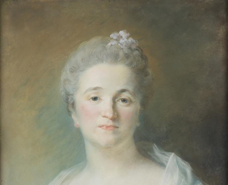 Portrait de Mme Michel de Grilleau, née Madeleine Françoise Seurrat de Bellevue _Dépôt du Louvre