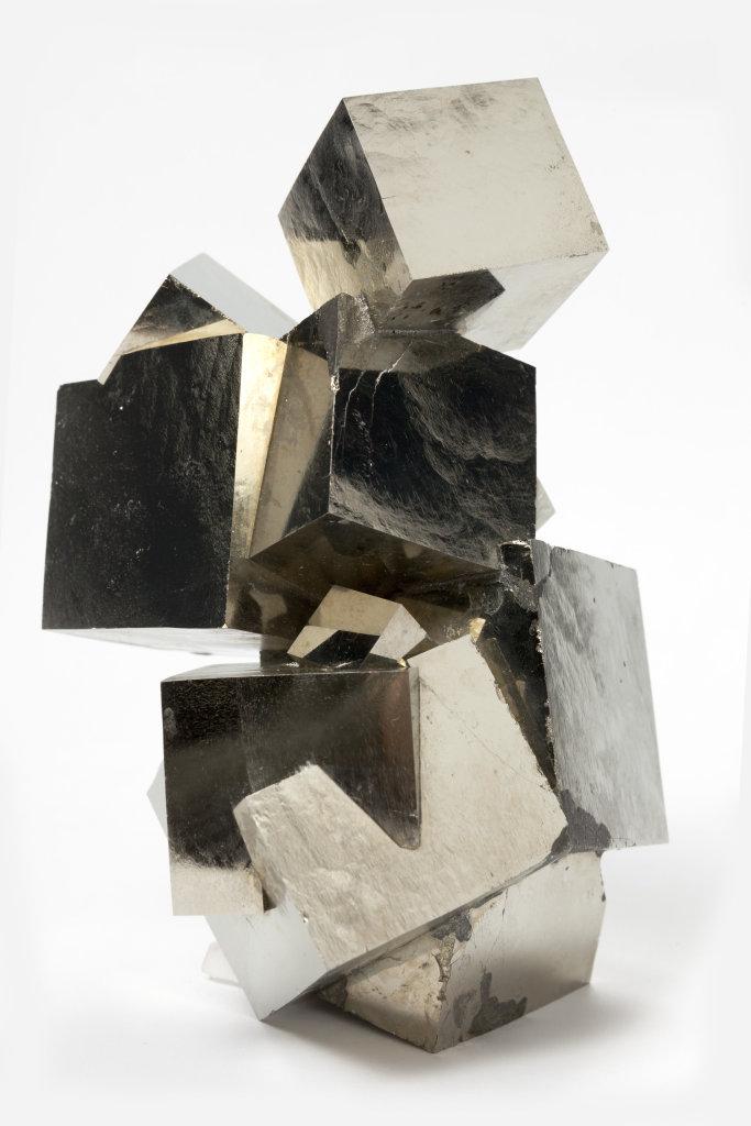 Pyrite, Trésors de la terre, Galerie de géologie et de minéralogie