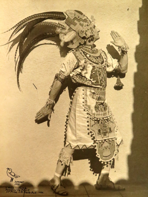 Robert Stacy-Judd, costume de Maya, Aztec Hotel, Quai Branly