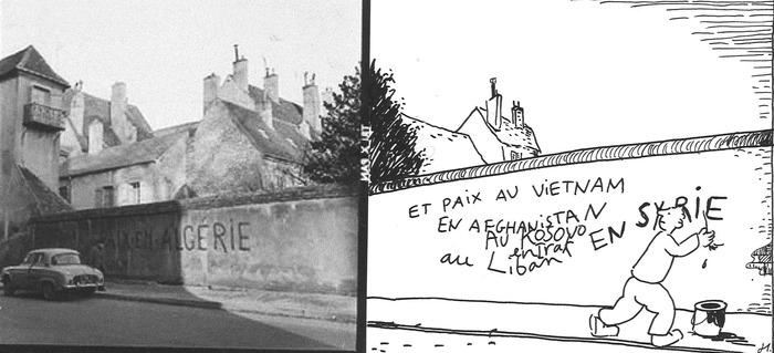 Rue Pasteur, Dole, Roland Liot et Bruno Heitz - Journées européennes du patrimoine 2017