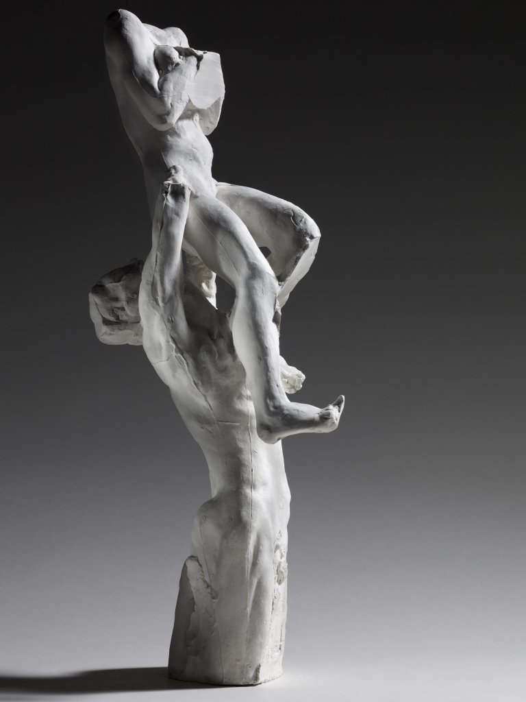 17. Rodin et la danse - Assemblage Adolescent désespéré portant l'Aube