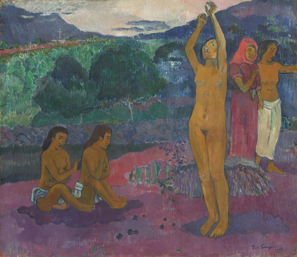Paul Gauguin (1848-1903) L'invocation 1903