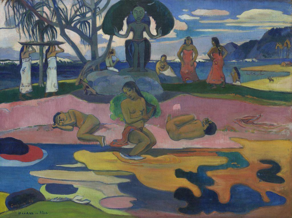 Paul Gauguin (1848-1903)Mahana no atua (Le jour de Dieu) 1894
