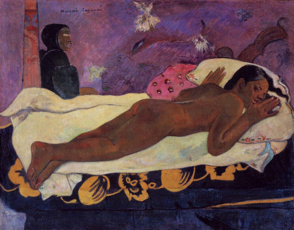 Paul Gauguin (1848-1903) Manaò tupapaú (L'Esprit veille), dit aussi L'esprit des morts veille 1892