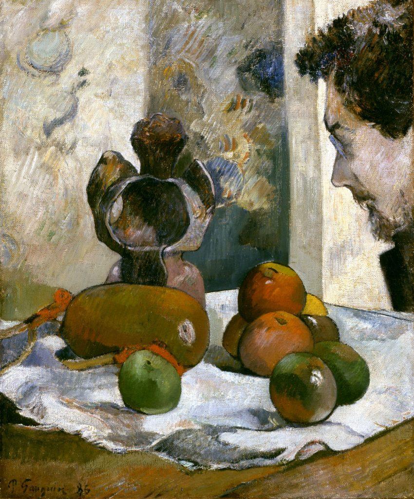 Paul Gauguin (1848-1903)Nature morte au profil de Laval 1886