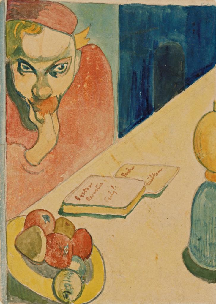 Paul Gauguin (1848-1903) Portrait de Jacob Meyer de Haan1889