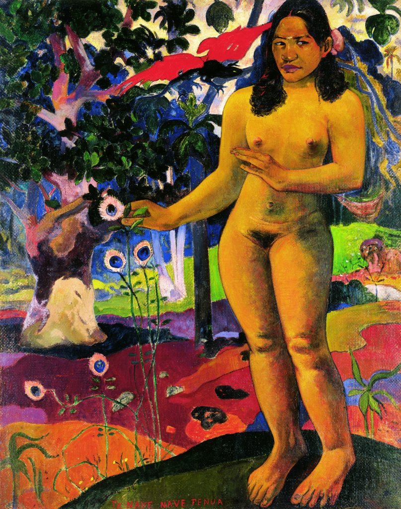 Paul Gauguin (1848-1903)Te nave nave fuena (Terre délicieuse) 1892