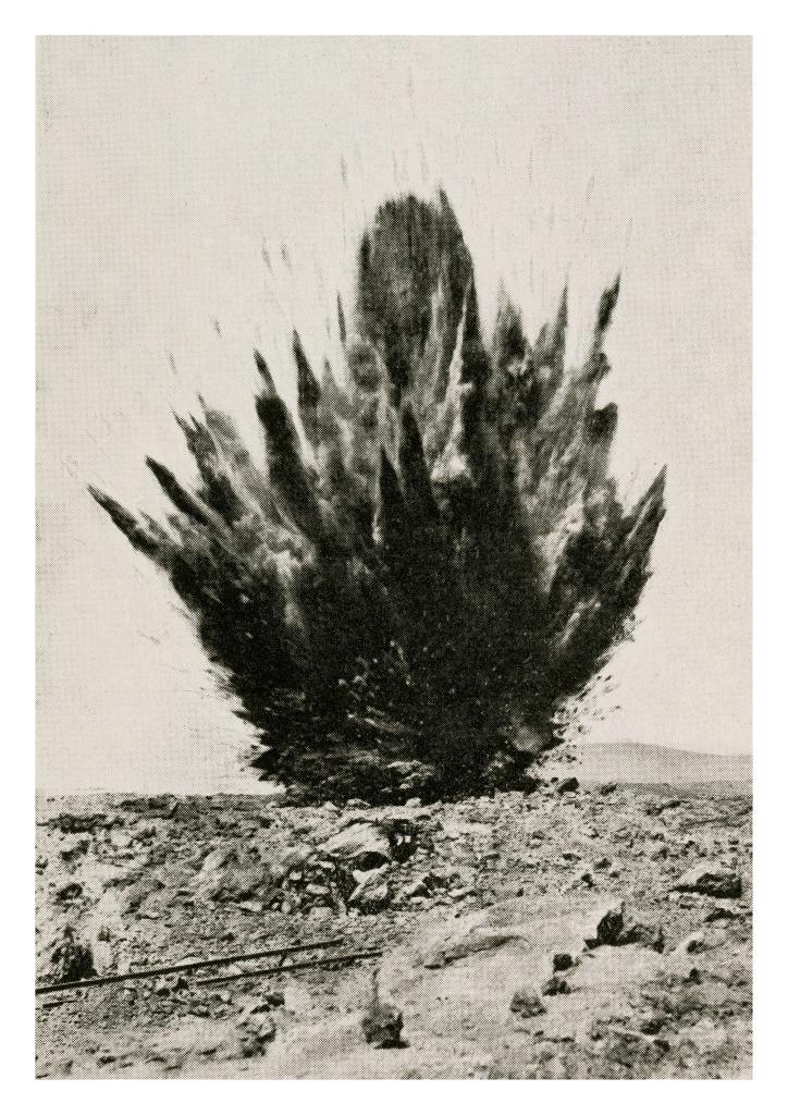 Xavier Ribas, Chilean Nitrate publicity postcard, 1920