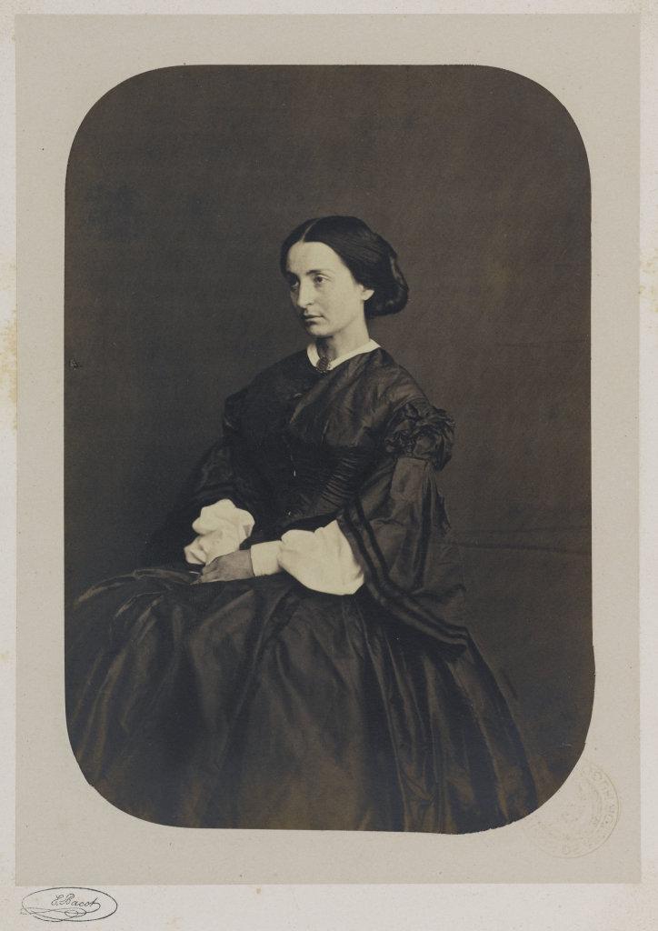 Adèle Hugo fille, 1862