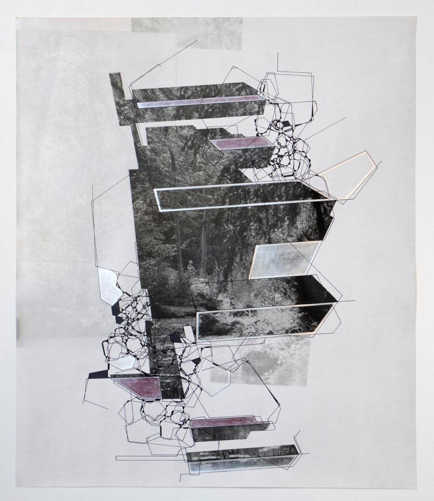 Aki Lumi, Architectural nature n°9, 2016 // Prix : 4 500 € (Galerie Françoise Paviot, Paris)