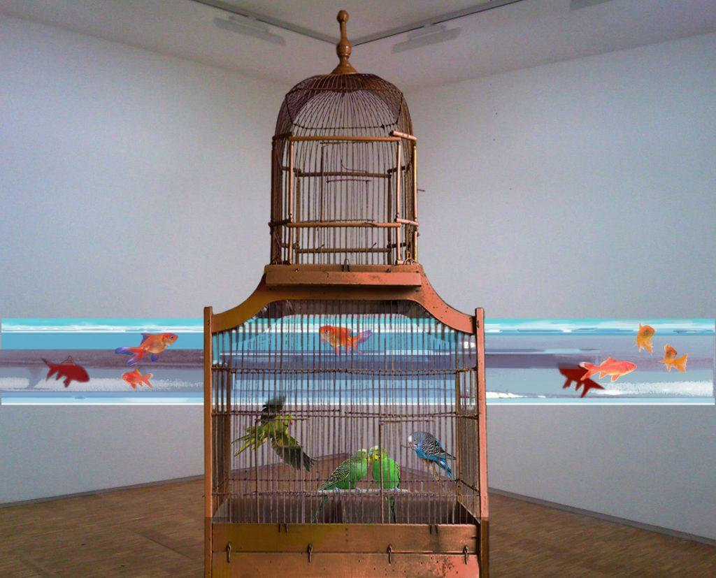 Alain Fleischer, La traversée des apparences, 1987 - Exposition Alain Fleischer, Passages clandestins Transferts, Transformations et Restes au Centre des Arts d'Enghien-les-Bains