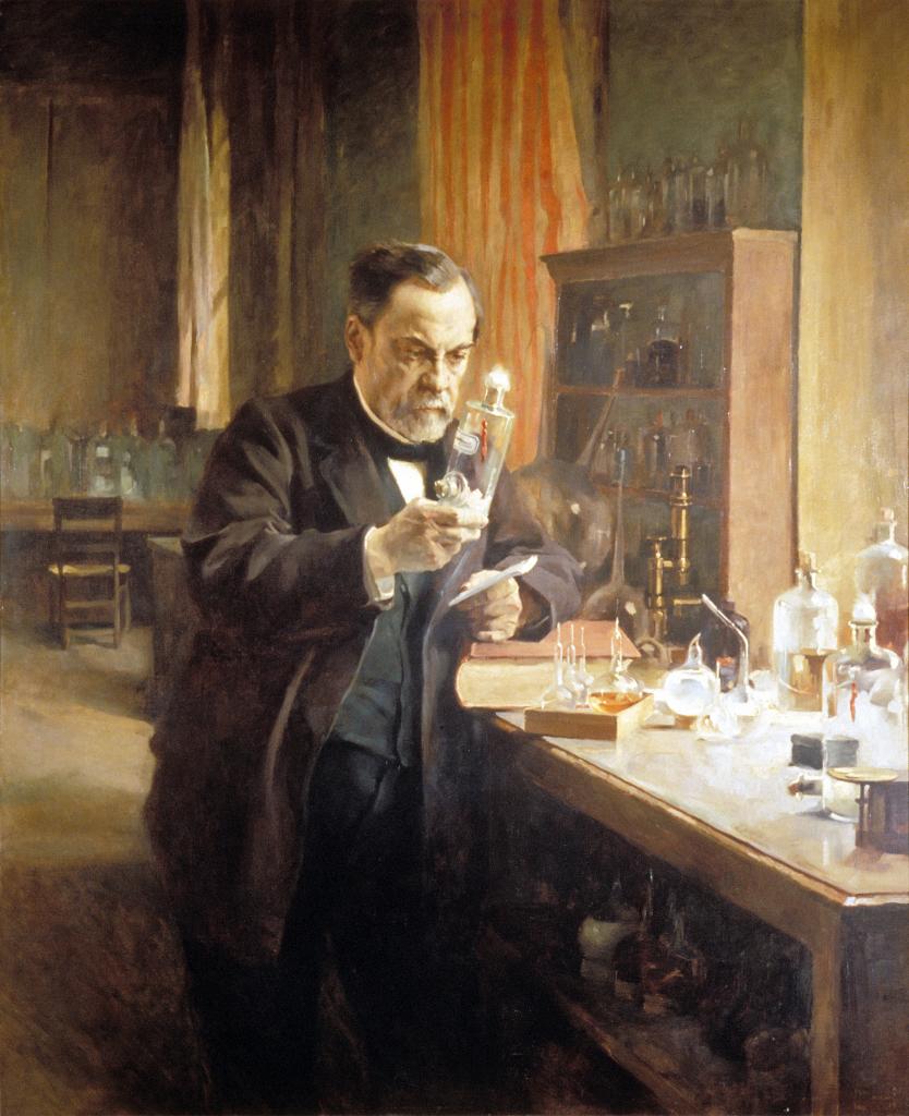 Albert Edelfelt, Portrait de Louis Pasteur, 1885 - Exposition Pasteur, l'expérimentateur au Palais de la découverte