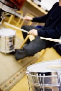 Atelier enfant Percussions du Brésil à la Cité de la Musique - Philharmonie de Paris octobre 2017