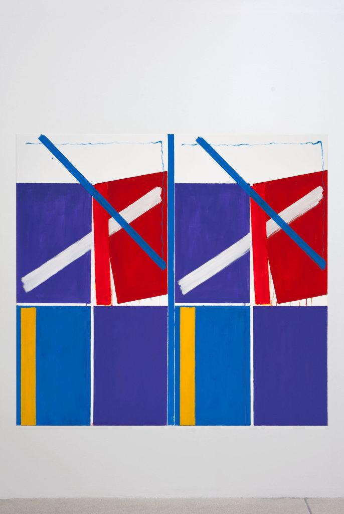 Bernard Piffaretti, Untitled, 2016 // Prix : au-delà de 35 000 € (Galerie Frank Elbaz, Paris)