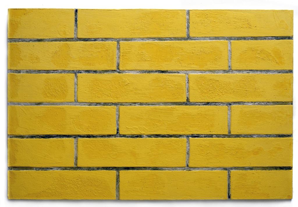 Un petit pan de mur Pierre Buraglio 2001-2002 faïence