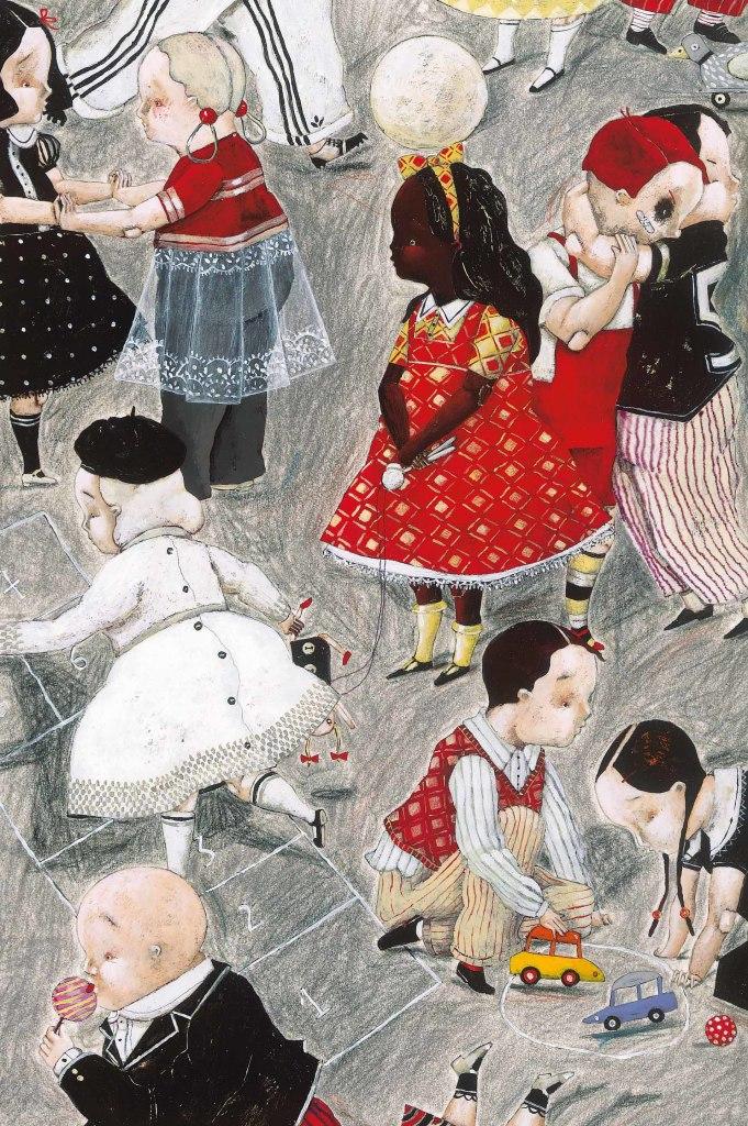 Pagaille, Carll Cneut, musée de l'illustration jeunesse, Moulin