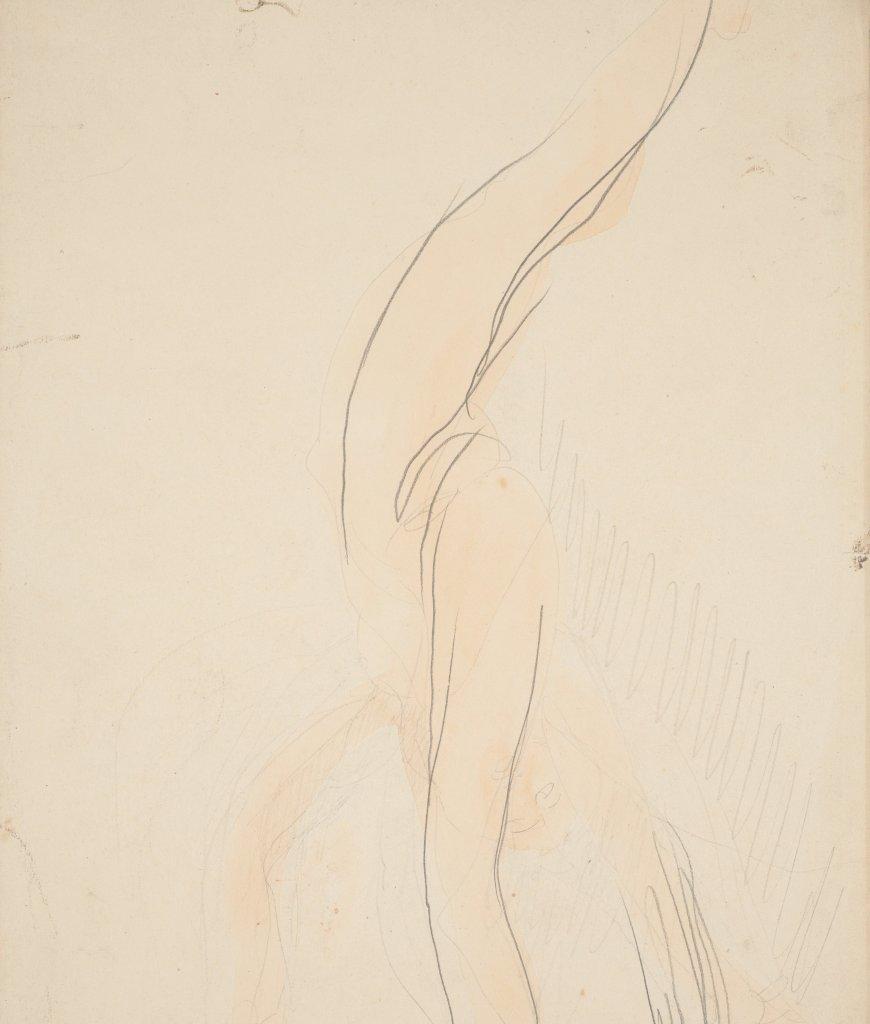 11. Rodin et la danse - Femme nue qui fait le poirier