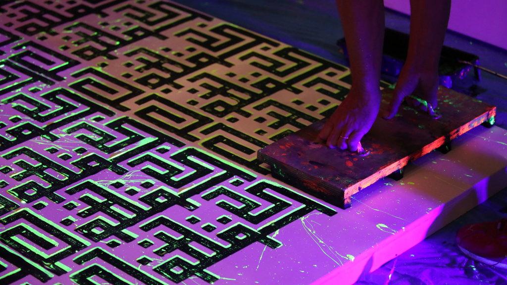Fluo Box Project Moscow, Lettres ouvertes de la calligraphie au street art, Institut des cultures d'Islam