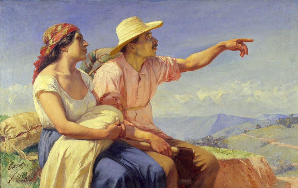 Francisco Antonio Cano, Horizontes, (Horizons), 1913 - Exposition Medellin, une histoire colombienne au Musée des Abattoirs de Toulouse