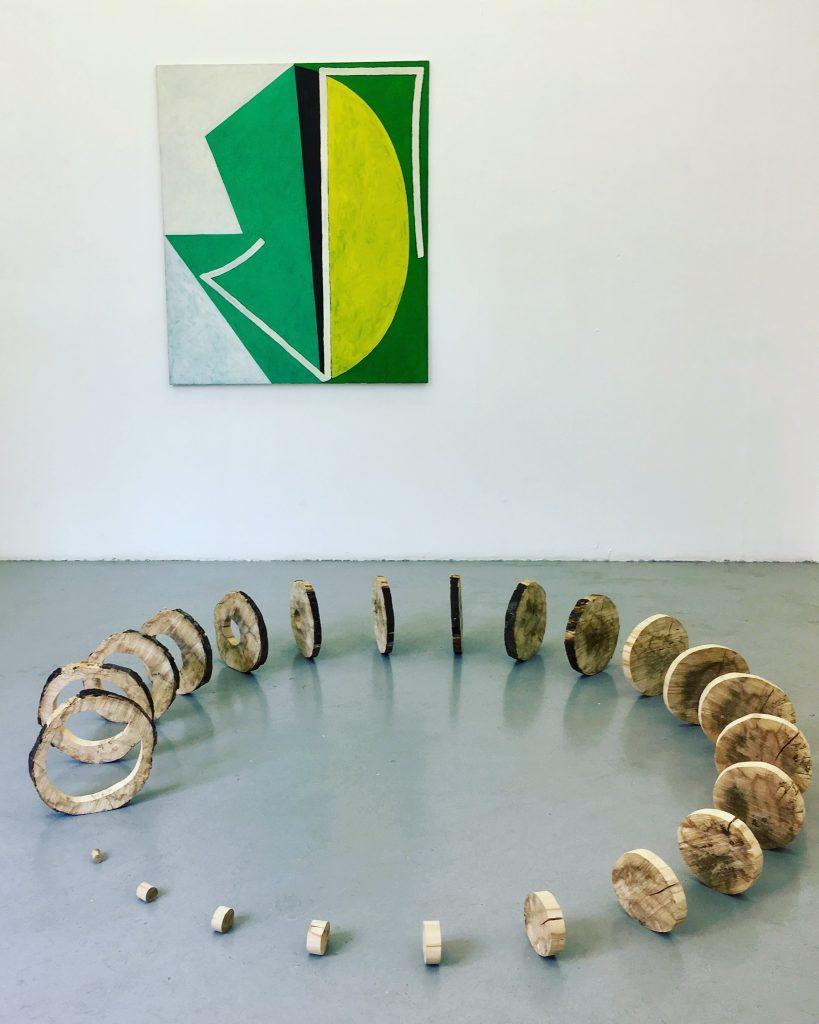 Miloslav Moucha Cycle, 1986 / Julia Gault Zero, 2016