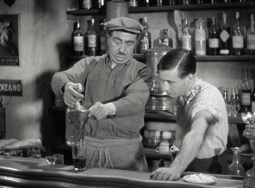 Dans Pilote, en 1963, Goscinny et Uderzo transposent la scène de la partie de carte de Marius,de Marcel Pagnol, Le cinéma de Goscinny, Cinémathèque Française