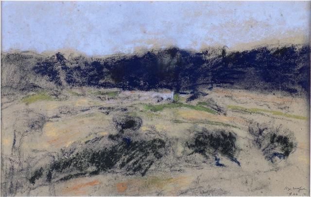 Ker-Xavier Roussel, Paysage, exposition Les modernes et le paysage, musée de l'Abbaye Saint-Claude