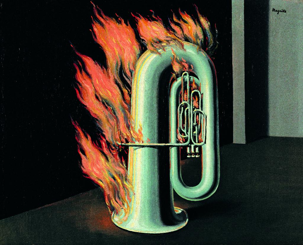 MAGRITTE, la découverte du feu, 1934