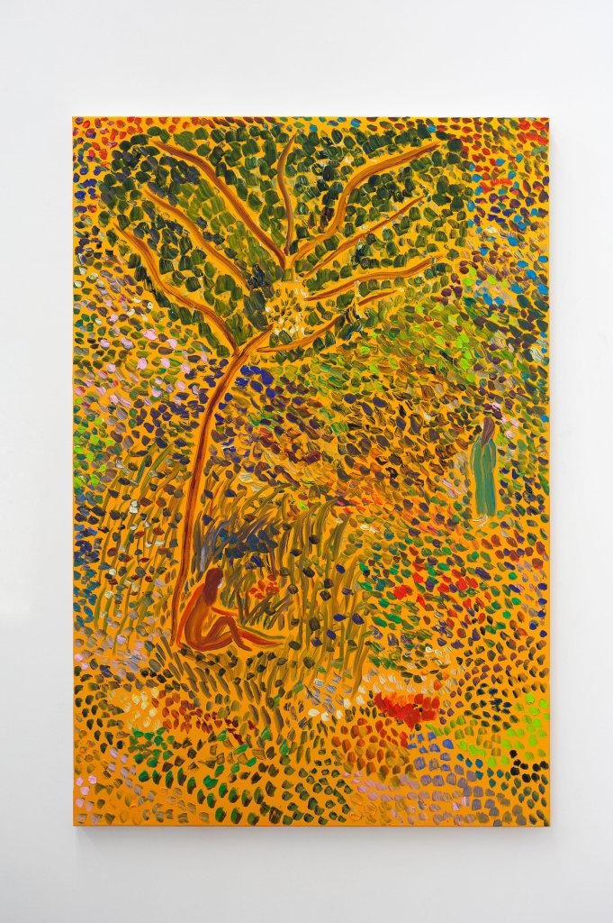Matthew Wong, Two Women, 2017 // Prix : au-delà de 15 000 € (Galerie Frank Elbaz, Paris)
