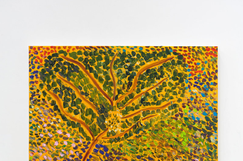 L'artiste canadien Matthew Wong est un explorateur de la peinture. Pour lui, l'art s'exprime à travers l'expérimentation et l'intuition. Ses racines  puisent dans l'art traditionnel chinois mais aussi dans les couleurs vibrantes de Van Gogh et les formes alambiquées de Chaïm Soutine.