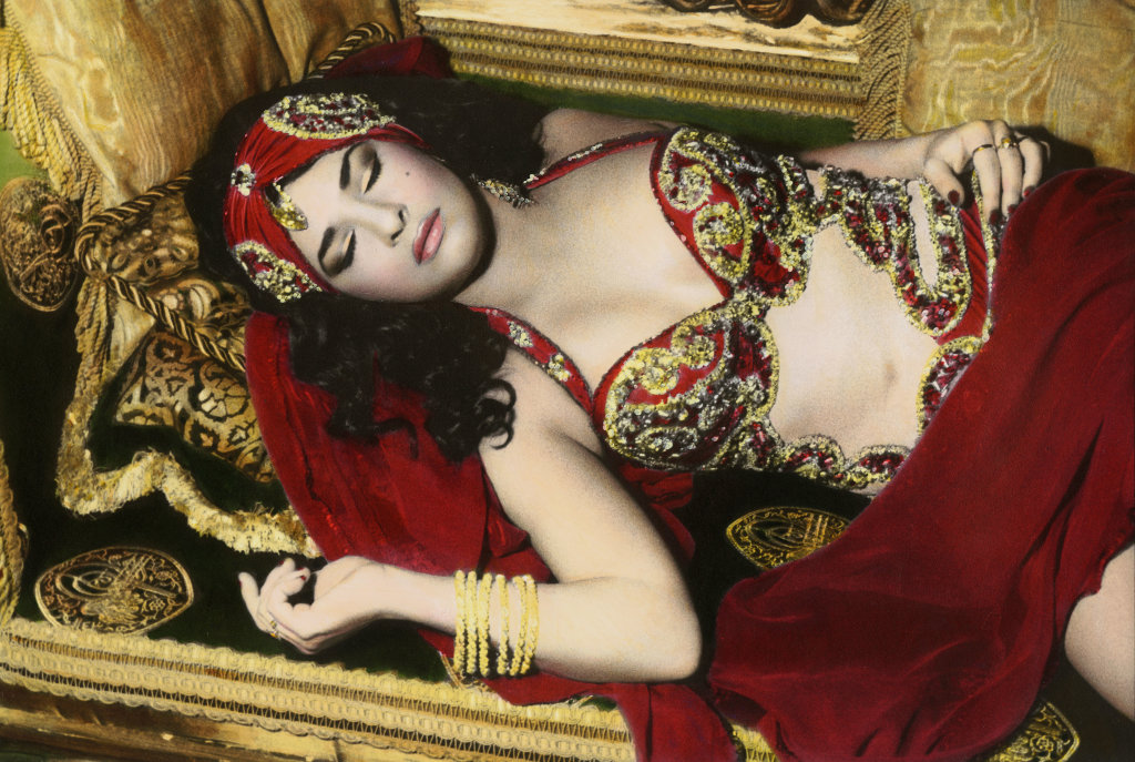 Natacha sleeping, Cairo, 2000