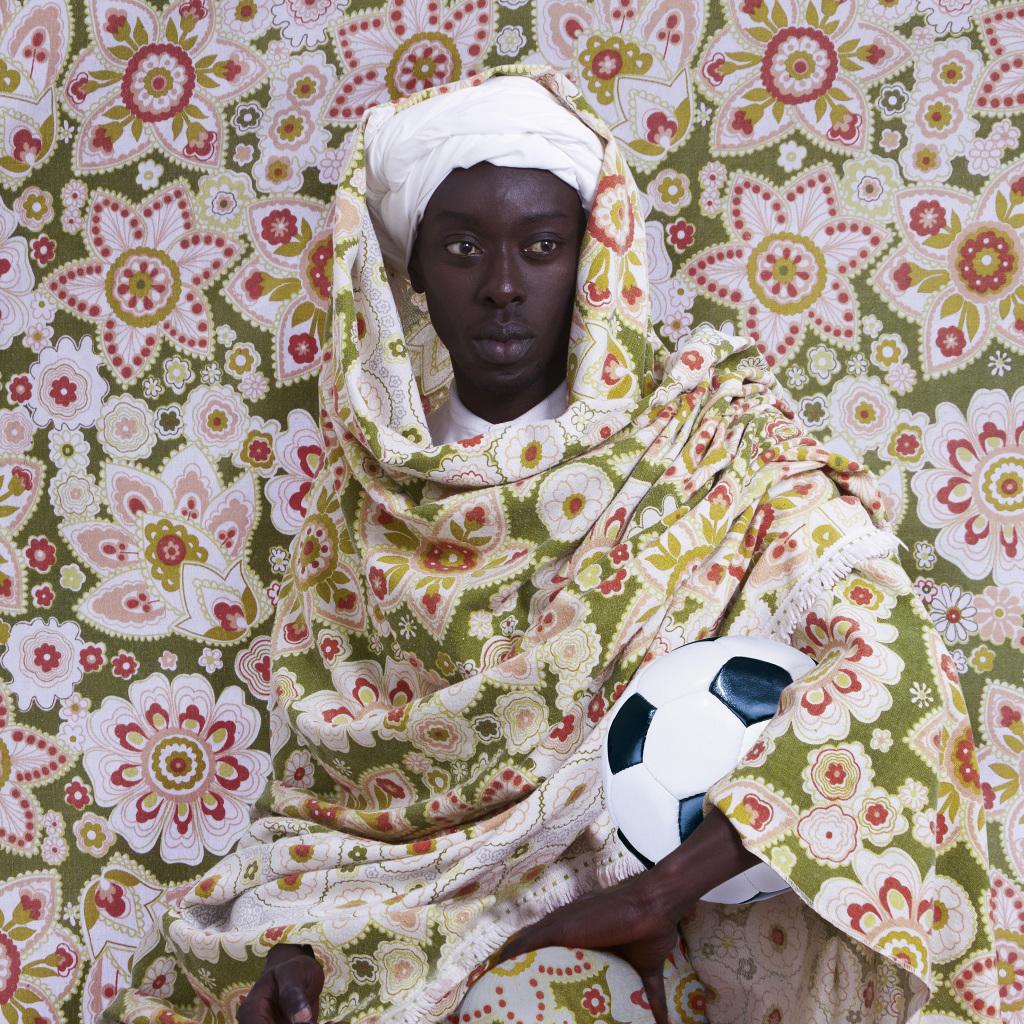 Omar Victor Diop, El Moro, série Diaspora, 2014 - Exposition Nous Sommes Foot au MUCEM