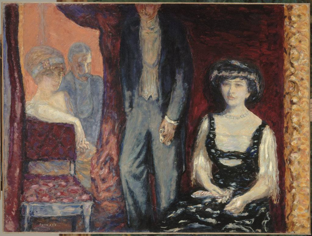 Pierre Bonnard, La Loge, 1908 - Bonnard. Hommage et chefs-d'oeuvre au Musée Bonnard