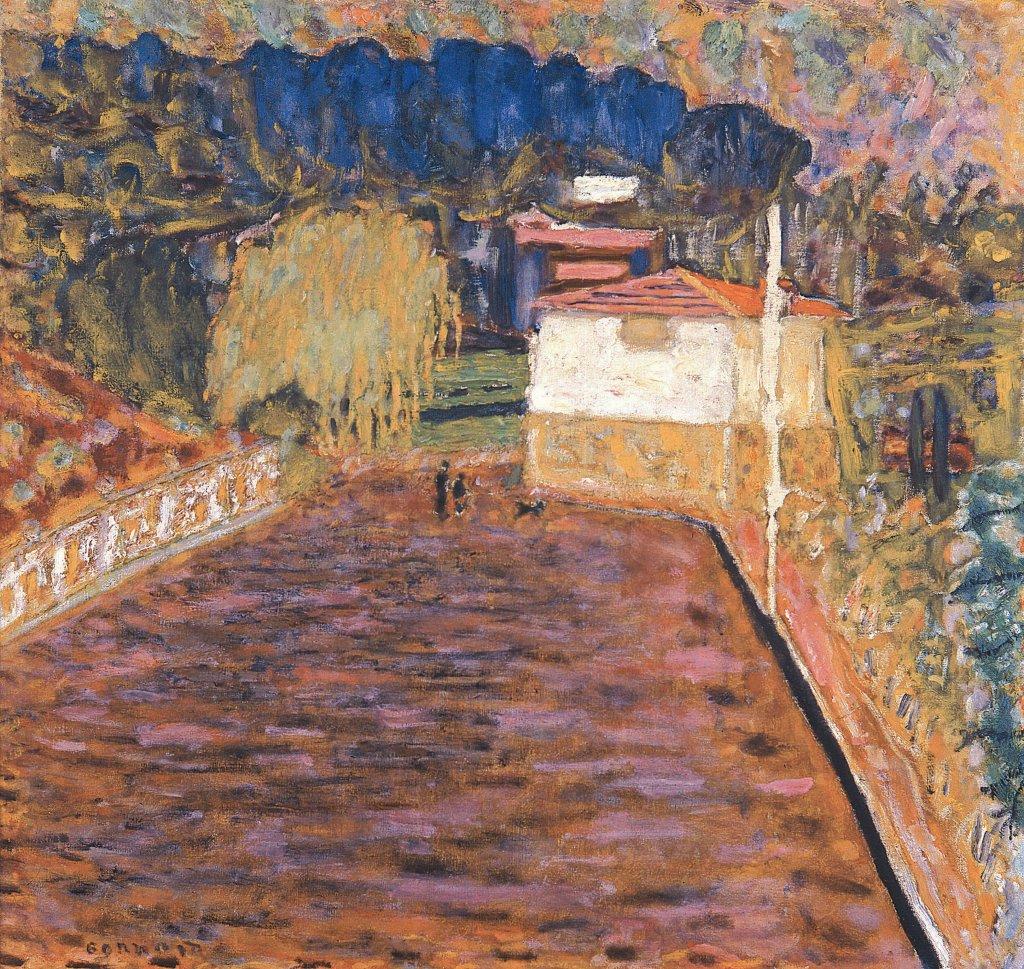 Pierre Bonnard, La Route rose au Cannet, 1934 - Bonnard. Hommage et chefs-d'oeuvre au Musée Bonnard