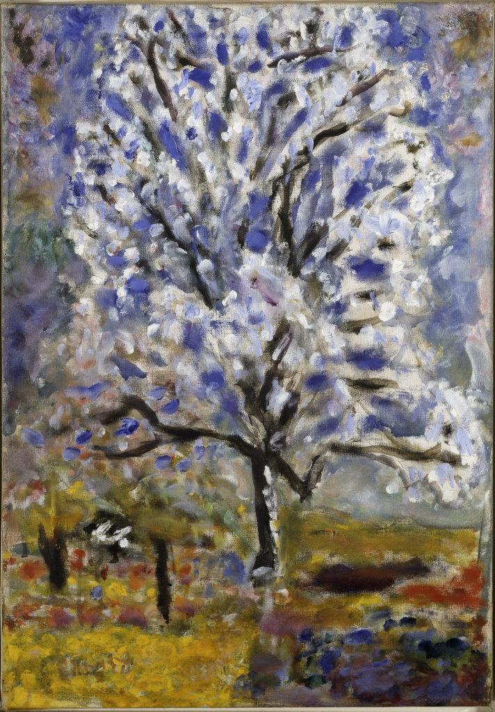 Pierre Bonnard, L'Amandier en fleurs, 1946-1947 - Bonnard. Hommage et chefs-d'oeuvre au Musée Bonnard
