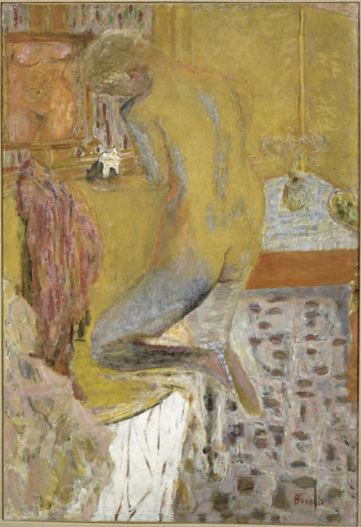 Pierre Bonnard, Nu de dos à la toilette, 1934 - Bonnard. Hommage et chefs-d'oeuvre au Musée Bonnard