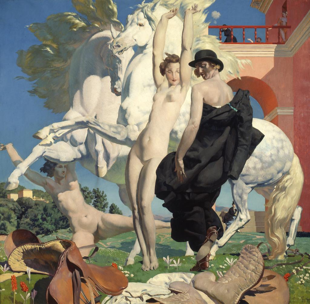 Robert Eugène Pougheon (1886 - 1955) Le Serpent, 1930