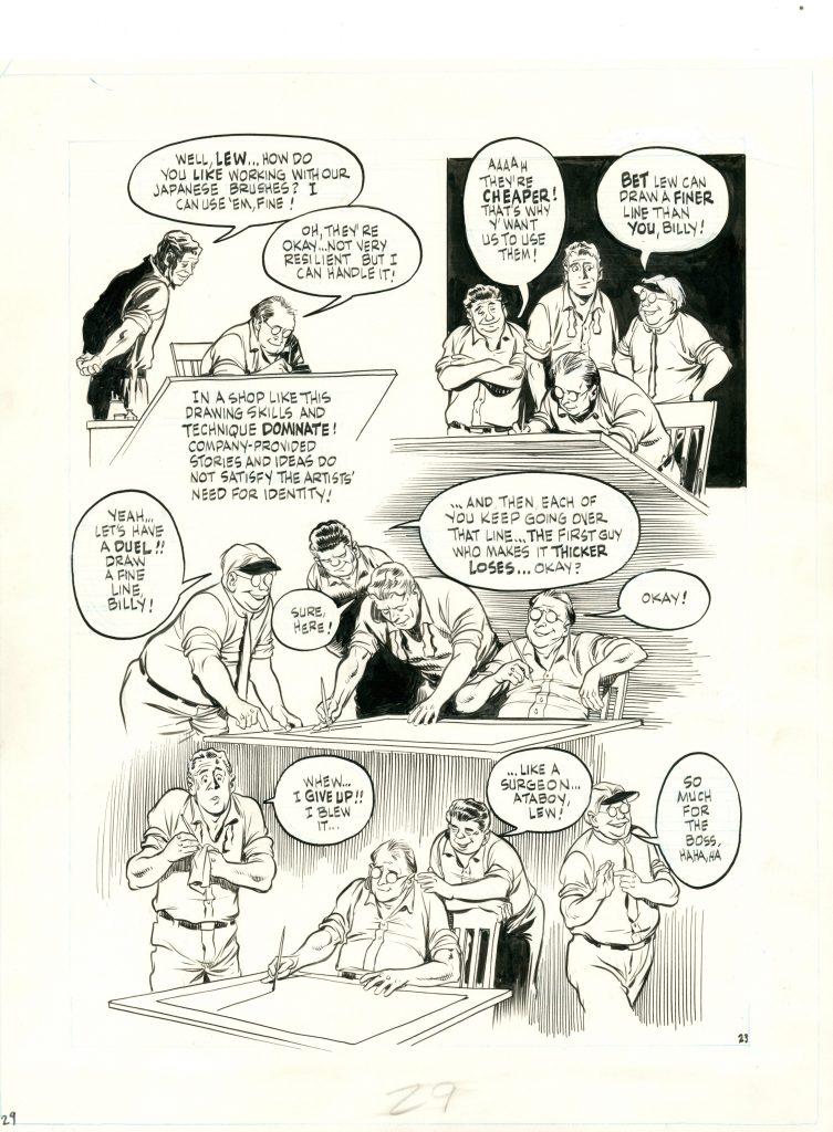 Will Eisner, The dreamer