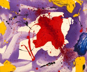 Sam Francis, Quiet eye, 1986 - Art Elysées, 1986