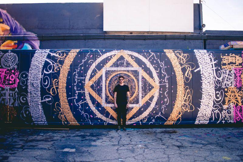 Sat Chit Ananda at Container Yard, Los_Angeles, Lettres ouvertes de la calligraphie au street art, Institut des cultures d'Islam