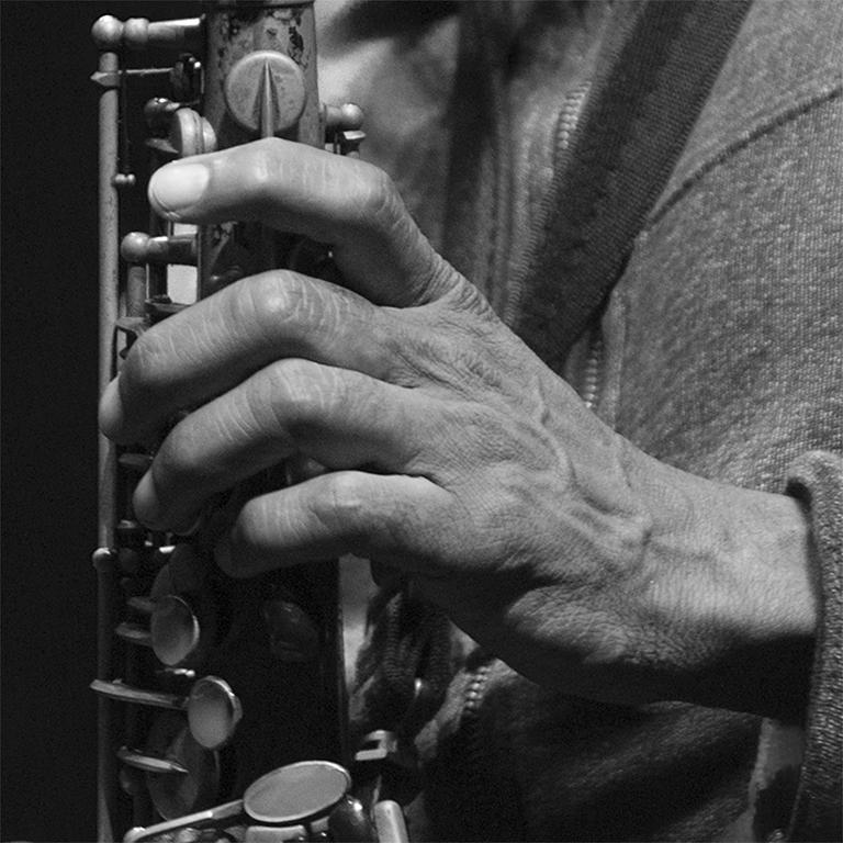 Sophie Le Roux, Kenny Garrett - Exposition Le Jazz au bout des doigts, Sophie Roux à la Galerie Hegoa