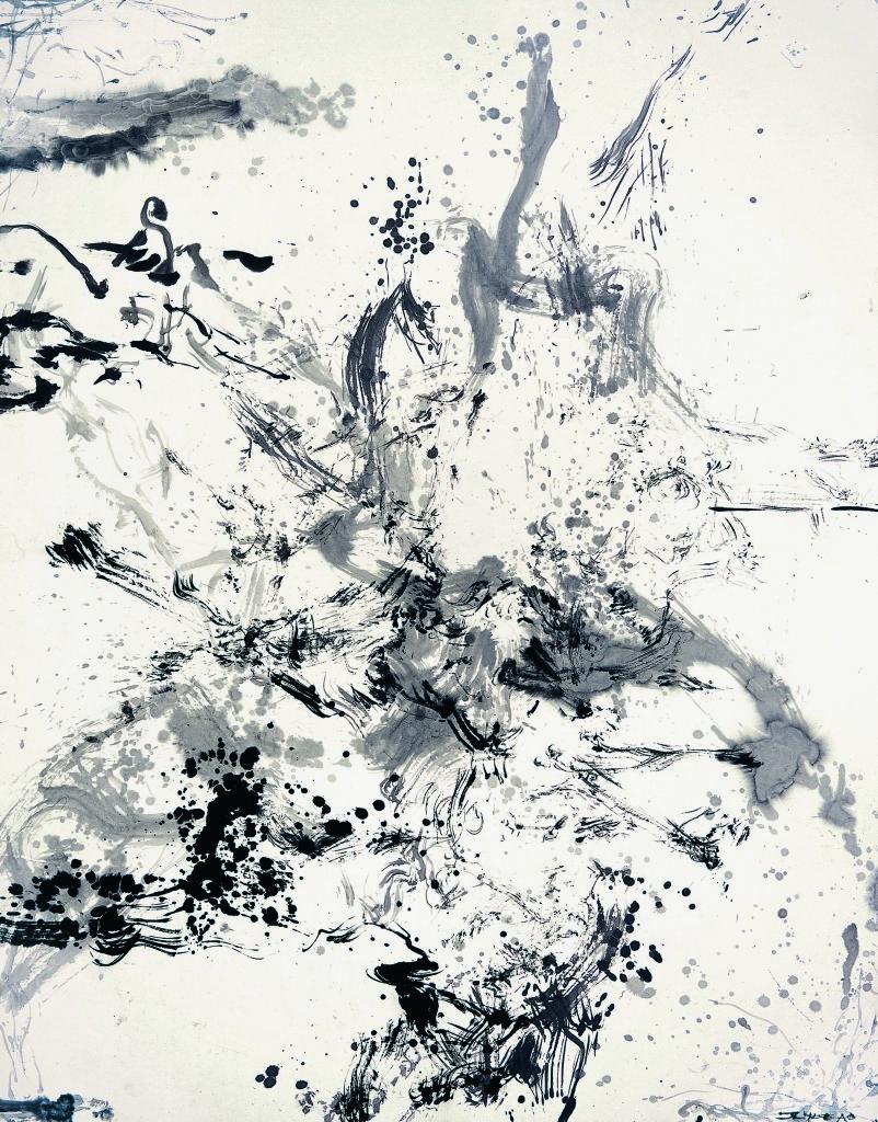 Zao Wou-ki, L'espace est silence