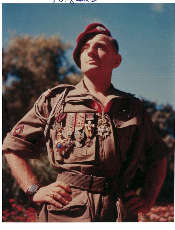 Colonel Bigeard, 1952, Guerre d'Indochine, Studio Willy Rizzo