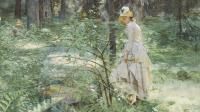 Anders Zorn, Le Buisson d'épines, 1886 - Exposition Anders Zorn au Petit Palais