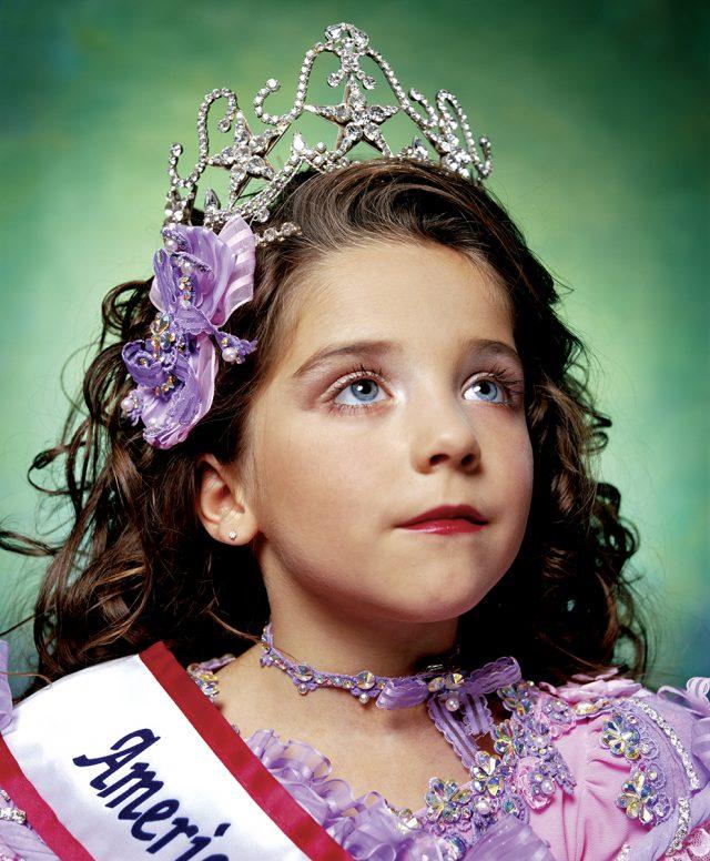 Andres Serrano, Jewel-Joy Stevens, America's Little Yankee Miss (America), 2003